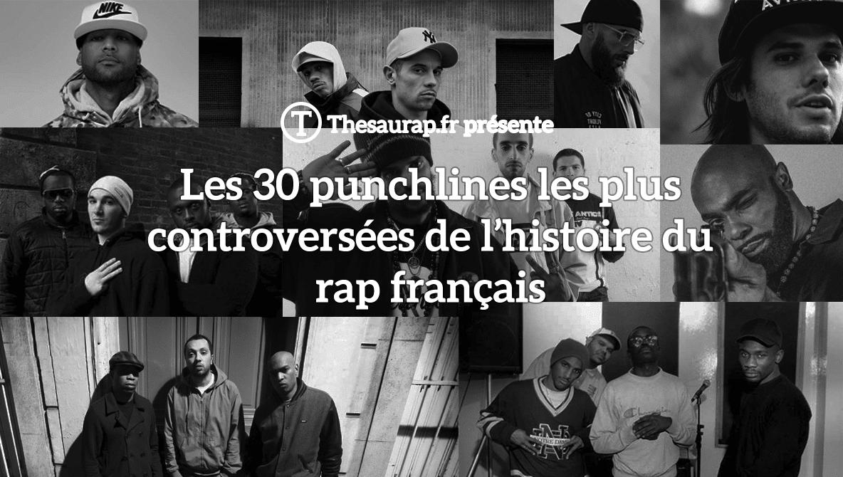 Les 30 punchlines les plus controversées du rap français