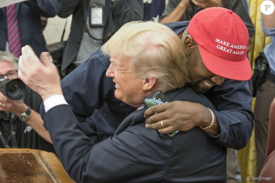 Kanye MAGA Trump