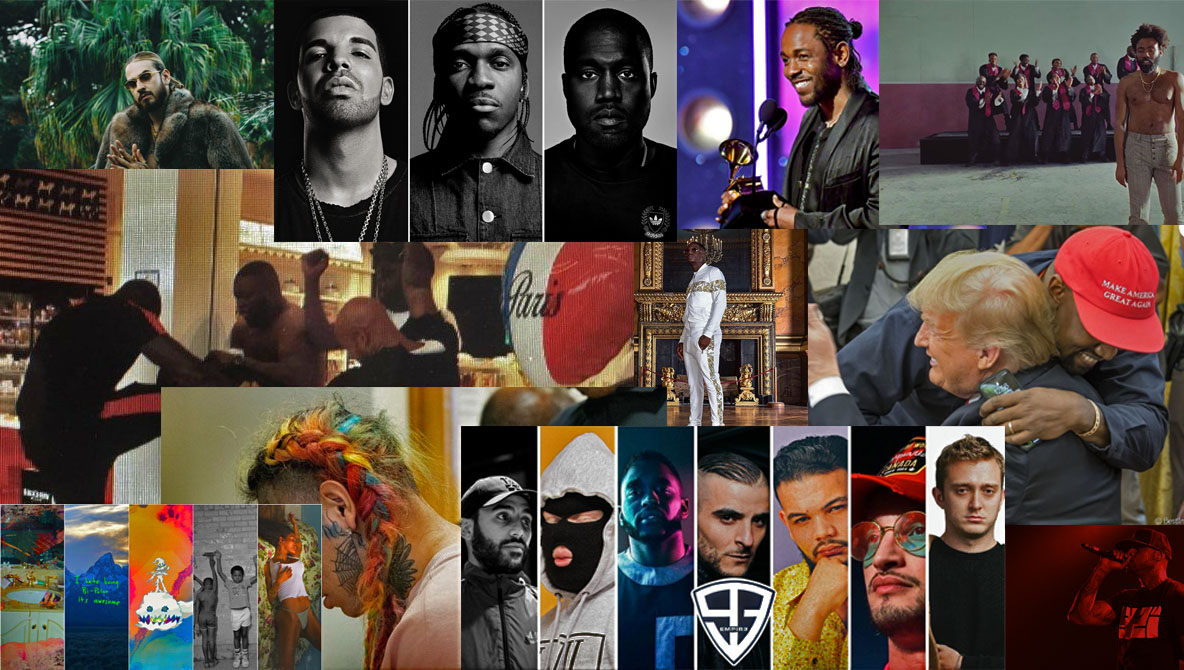Top 30 des plus gros évènements de l'année rap 2018