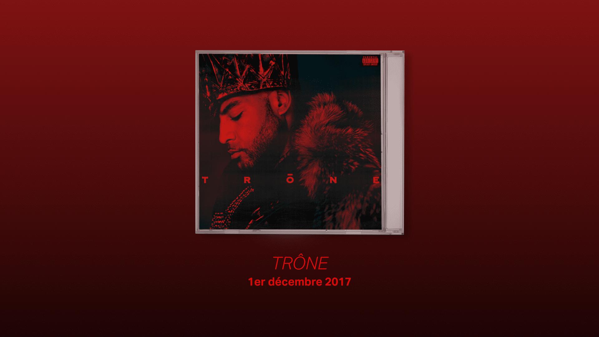 Trone, 9eme meilleur album de Booba