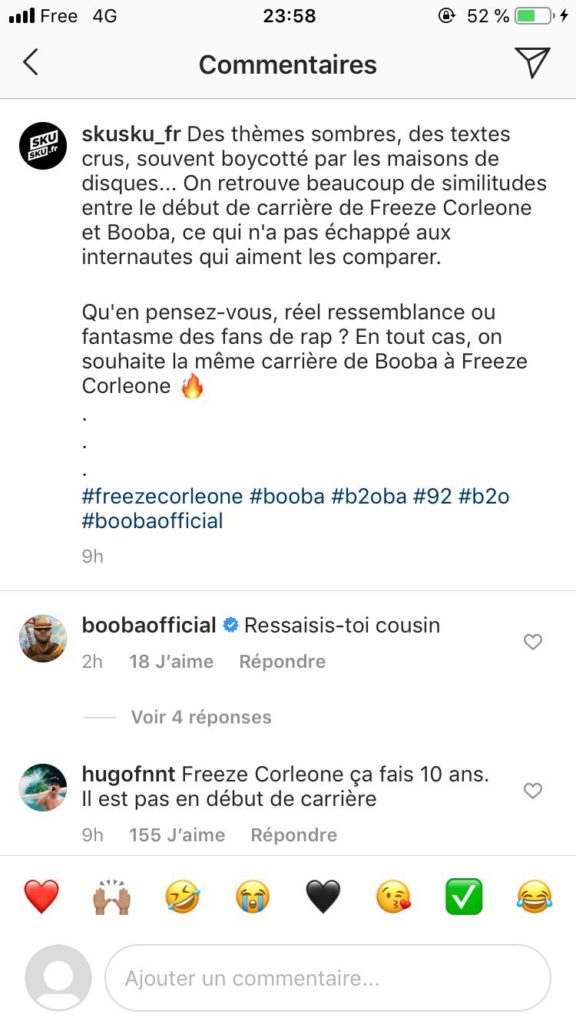 Booba Freeze corleone