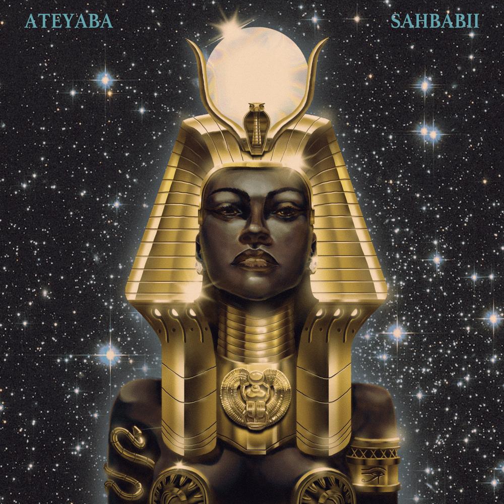 """cover du morceau """"solitaires"""" d'Ateyaba ft Sahbabii"""