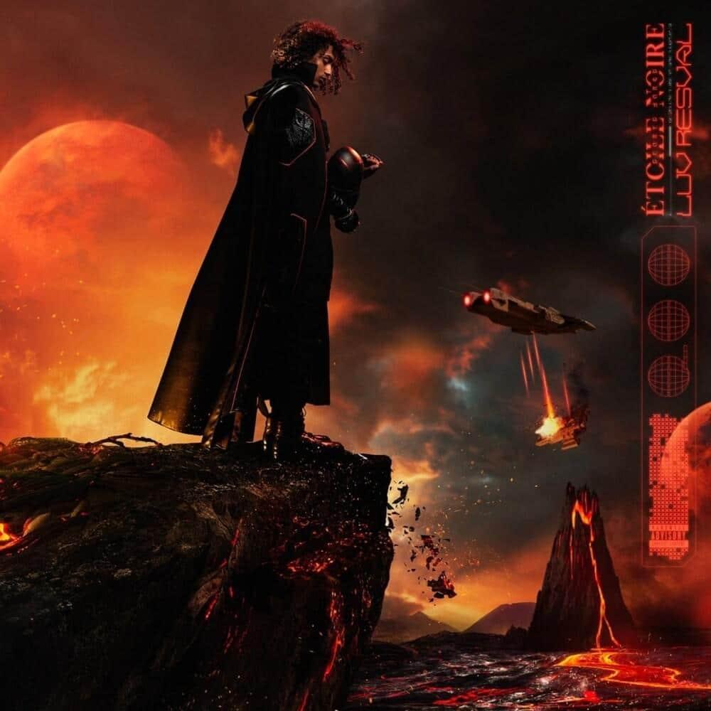 """Cover de l'album """"Etoile Noire"""" de Luv Resval"""