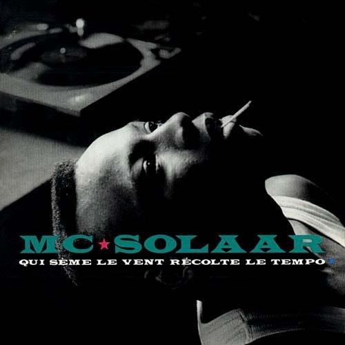 Cover album «qui sème le vent» MC Solaar